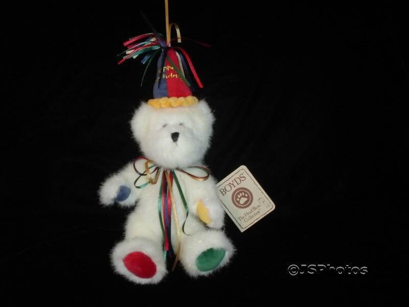 Boyds Collection Happy Birthday Bear 903057  WTags