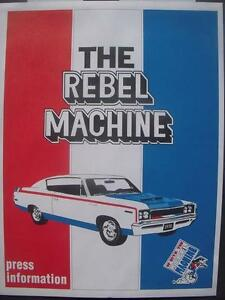 70-AMC-Rebel-Machine-PRESS-KIT-NHRA-photos-folder-Dallas-Texas