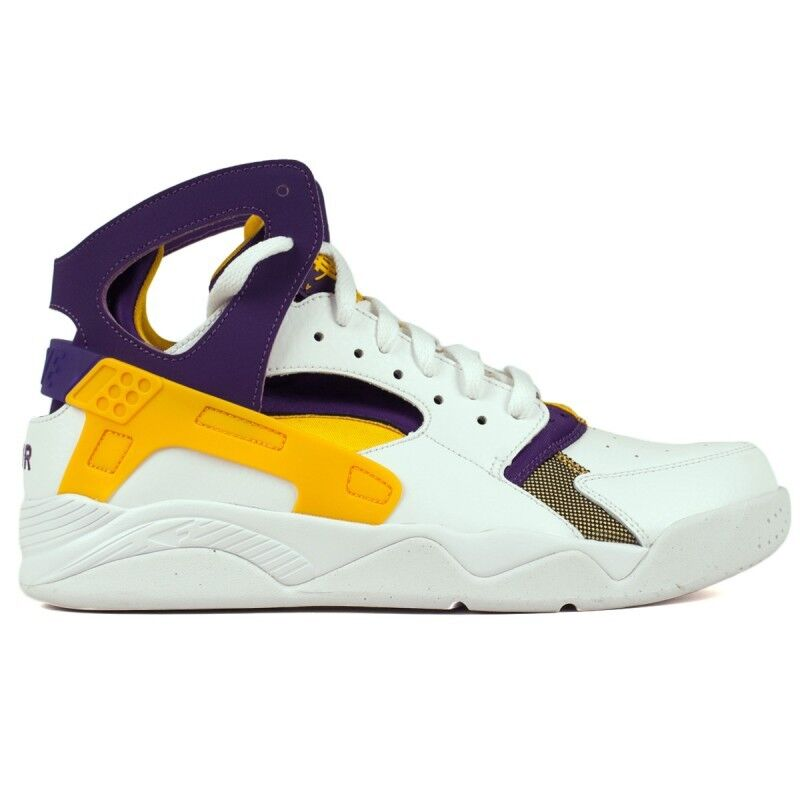 competitive price f8ab3 ef9d6 85%OFF New Men s NIKE Air Flight Huarache - 705005 101 Lakers Kobe Bryant  Sneakers