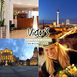 Berlin-3Tage-zu-zweit-im-3-s-Victor-039-s-Hotel-Berlin-Tegel-inkl-Fruehstueck-Wlan