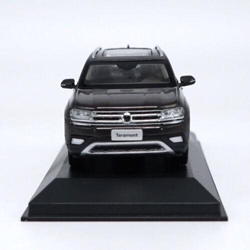 1//43 Volkswagen 2017 teramont Brown Diecast model collection