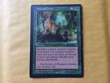 Misprint Natural Order Visions Light-Printed MTG Magic Card