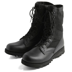Image is loading Rothco-G-I-Type-Ripple-Sole-Jungle-Boots-Black- 6dc1190efc9