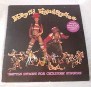 Haysi-Fantayzee-Battle-Hymns-For-Children-Singing-LP-NEW-WAVE-JEREMY-HEALY-DJ