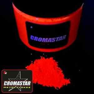 Fluorescent Pigment Orange Automotive Paint Reactive Glow