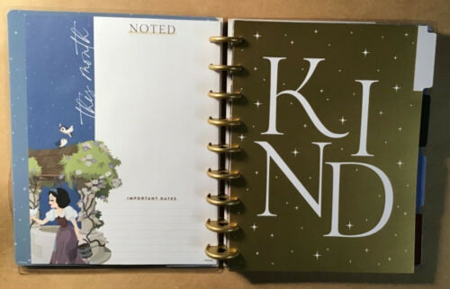 """Details about  /NEW Happy Planner DISNEY PRINCESS """"MAGIC BEGINS WITHIN"""" Classic UNDATED Planner"""