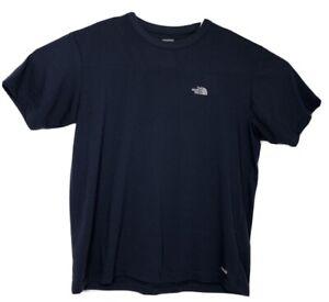 The-North-Face-Mens-Large-Blue-Short-Sleeve-Base-Layer-Active-Shirt-Vaporwick-A2