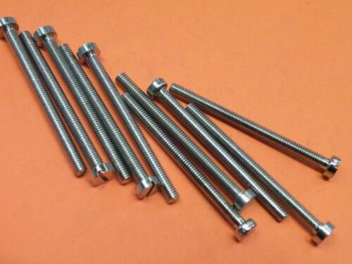 """10 Pcs  4BA Cheese Head Screw Slotted 1+7//8/"""" 1.875/"""" Brass Nickle Plated GJ19"""