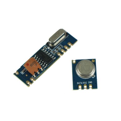 433MHz 100 Meters ASK Module Kit RF STX882 Transmitters/&SRX882 Receivers Ws
