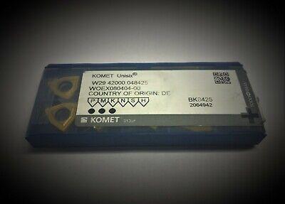 KOMET W29 42130048425 INSERT INDEXABLE BK8425-10 pack