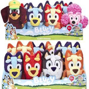 *GENUINE* BLUEY   BINGO   COCO   SNICKERS   MUFFIN   RUSTY 20cm plush toys