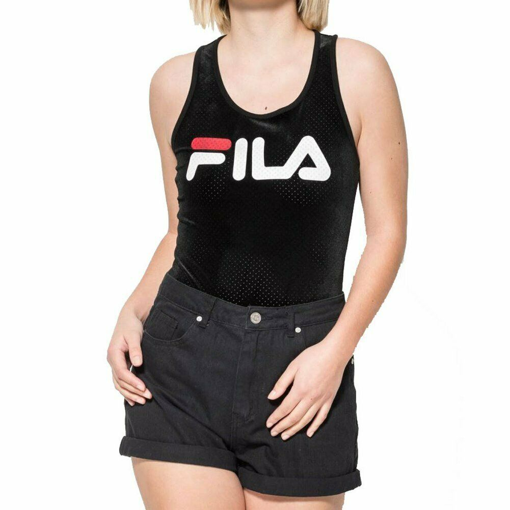 Fila Lupita  Body Suit Schwarz Damen