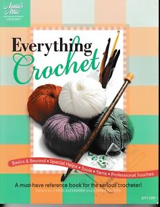 Everything-Crochet-Annie-039-s-Attic-871109-Sweater-Pillow-Socks-Bag-Afghan