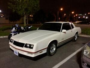 1987 Chevrolet Monte Carlo SS Aerocoupe ORIGINAL 18000 Mile Car