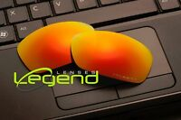 E47 Fire/red Etched Polarized Replacement Legend Lenses For Oakley Hijinx