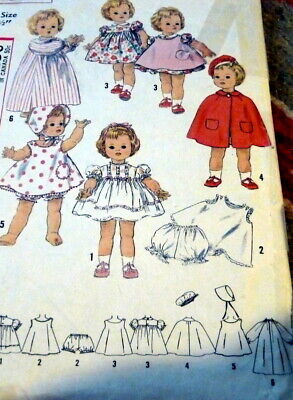 1860s La Poupee Modele Pattern For Antique Doll's Flower Trim Enfantine Dress