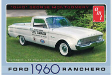 "AMT 1/25 1960 Ford Ranchero ""Ohio George Montgomery"" Plastic Model Kit 822"