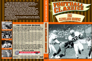 1961 NFL Cleveland Browns Highlights -Jim Brown on DVD! | eBay
