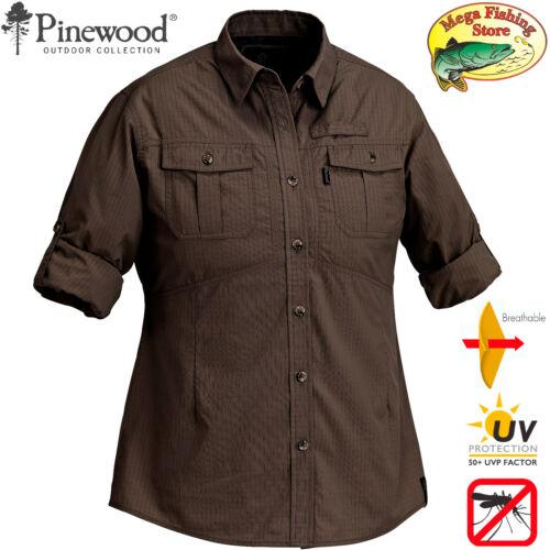 Pinewood 7327 nimibia Outdoor /& Tempo libero Camicia da donna-UV Camicia da donna//Camicia