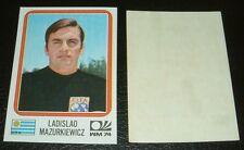 N°219 MAZURKIEWICZ URUGUAY RECUPERATION PANINI FOOTBALL MÜNCHEN 74 MUNICH 1974