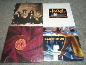 Lot-of-4-NEW-SEALED-HAIR-METAL-CD-039-S-IZZY-STRADLIN-JACKYL-THROBS-LITTLE-CAESAR