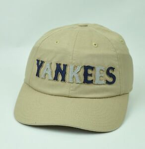 8ebbd402020 MLB American Needle New York Yankees Sun Buckle Creme Relaxed Hat ...