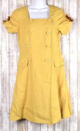 Saks Fifth Avenue Folio Collection Dress Button Fr