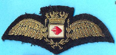 GB Airways Inactive Airlines UK Old PILOT Wings Patch Handwork Original