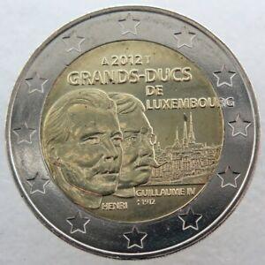 LU20012.2 - LUXEMBOURG - 2 euros commémo. Grands-Ducs de Luxembourg - 2012