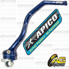 Apico Blue Kick Start Lever Pedal For Kawasaki KX 250F 2008 Motocross Enduro New
