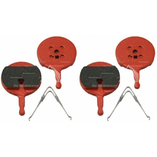 2 Pairs of Avid BB5 Bike Disc Brake Pads with Springs BB Choose your compound