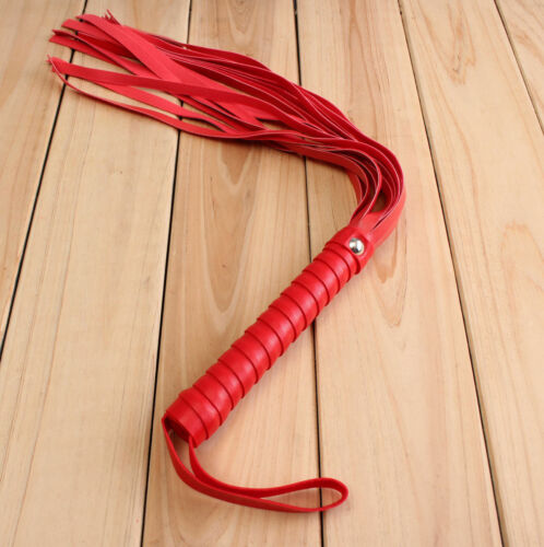 SM Make Love Toy PU Leather Whip Flogger Nine Tail Adult Alternative Handle Hot