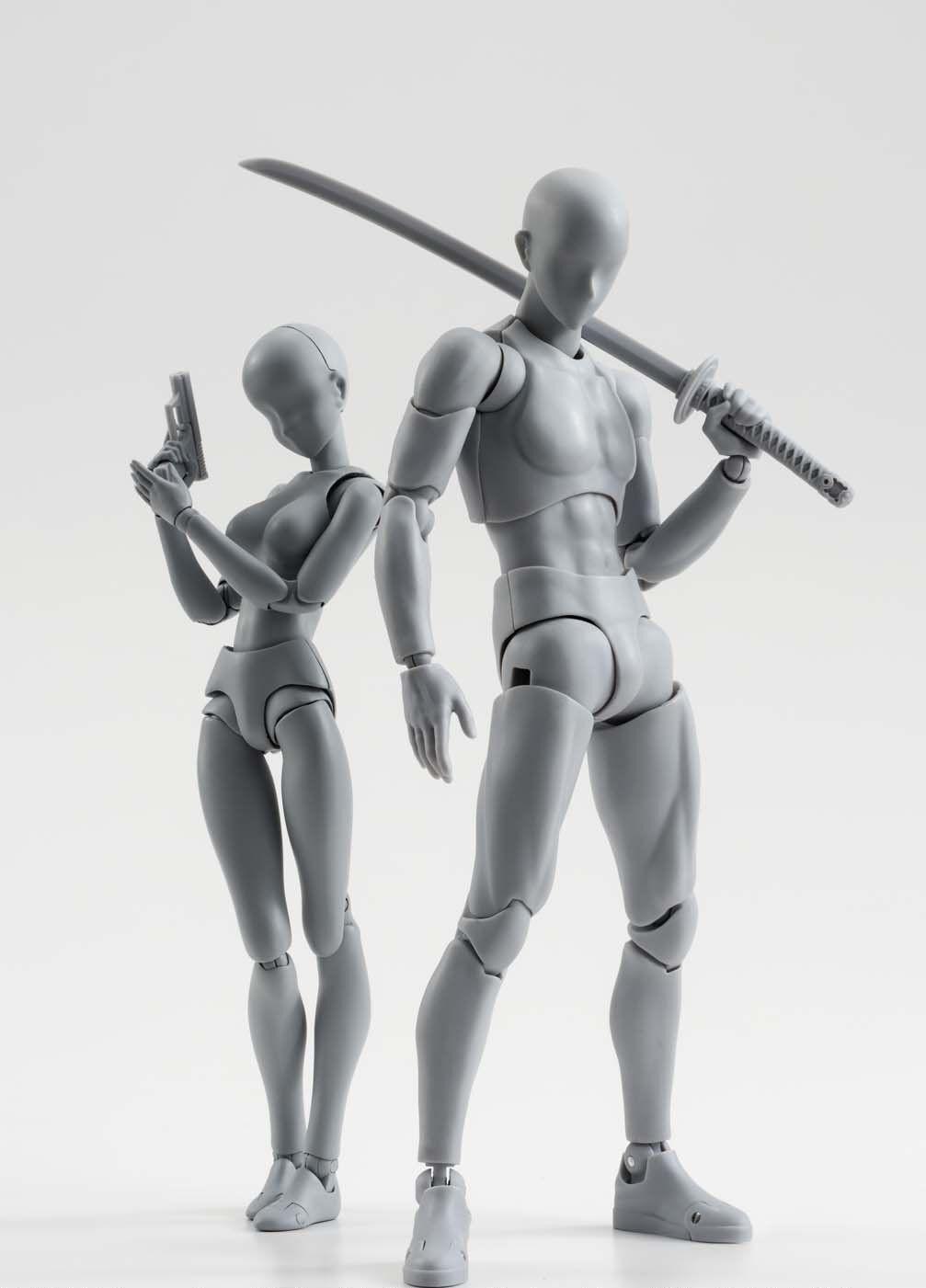 Bandai S.H. Figuarts body kun & body chan DX Set grau Farbe Ver. Set of 2 F/S
