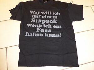 NEU-Fruit-of-the-Loom-T-Shirt-mit-Fun-Text-Gr-XL-54-Schwarz