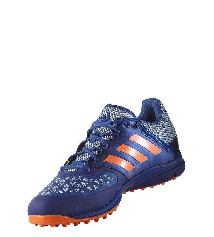 Adidas Zone Dox Hockey homme Bleu Orange Shoe Cleat AQ6520