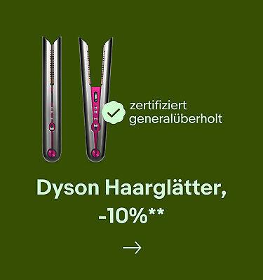Dyson Haarglätter,  -10%**