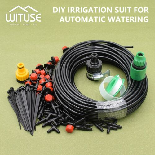 MICRO DRIP IRRIGATION SPRINKLER SYSTEM EFFICIENT WATERING HOSE KITS FOR PLANTS