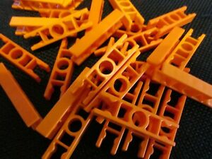 100 Knex Orange Ladder 2 Position Standard End Connectors K/'nex Parts Lot
