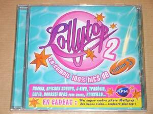 CD-LOLLYTOP-2-100-HITS-CANAL-J-NEUF-SOUS-CELLO