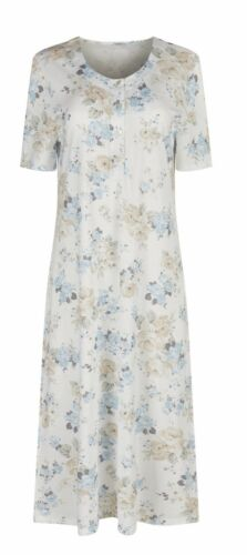 Huber Damen Nachthemd Summer Garden 18589 7081