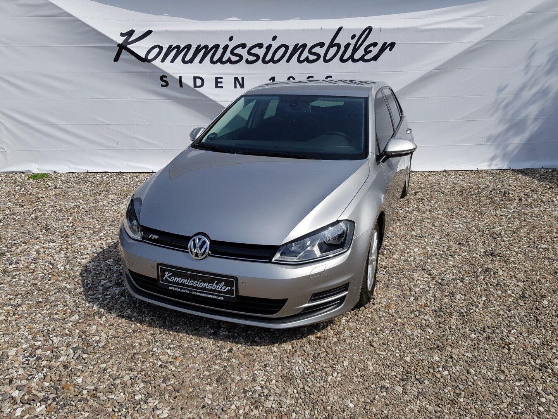 VW Golf VII 1,6 TDi 110 BlueMotion 5d - 133.000 kr.