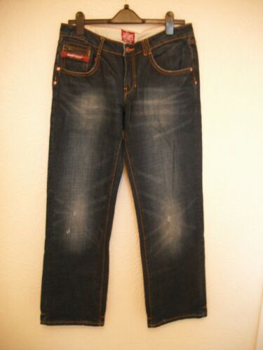 31 32 Bleu Jambe Taille Jeans Taille Superdry 1qUxwqH4t
