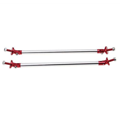 2x7.9/'/' Front Bumper Lip Splitter Strut Rod Tie Support Bar FOR Drift Racing CAR