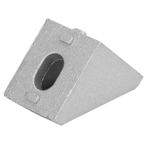 30 Pcs L-Shaped Aluminum Corner Bracket 2 Holes Right Angle Bracket For 2020