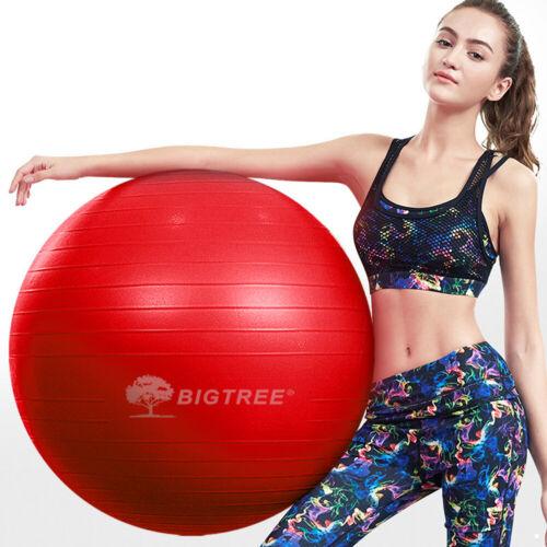 Exercice//Yoga Balle Extra épais Yoga Balle chaise Anti-Burst-ROUGE 55 cm