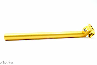 6061 T6 Mountain/Road Bike Seat Post,27.2mm,350mm,Gold,310 Grams