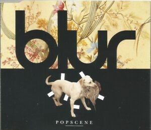 Blur-Popscene-original-1992-CD-single