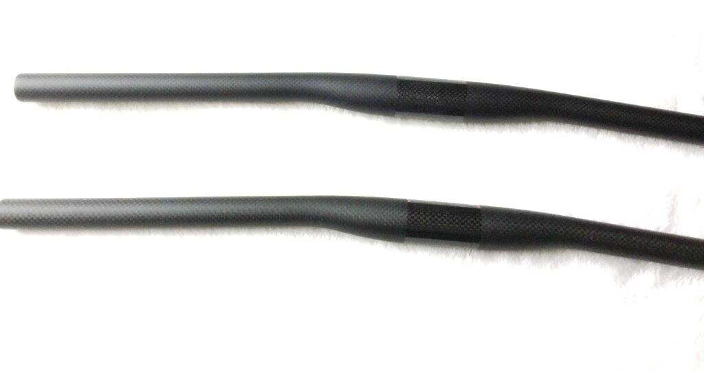 Carbon Flat mtb Lenker 31,8 mm Handlebar 580-720mm  Matt  Carbonlenker 120g