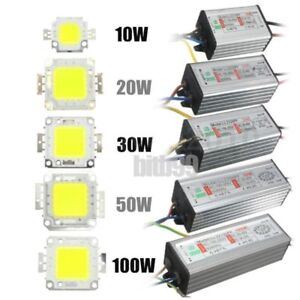 Ambitieux Led Smd Chip Bulb 10w/20w/30w/50w/100w Led Driver Supply Power Waterproofr38?!