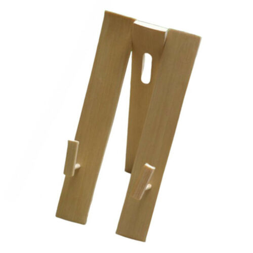 Hand Fan Display Stands Bamboo Chinese Folding Fan Holder Base Adjustable